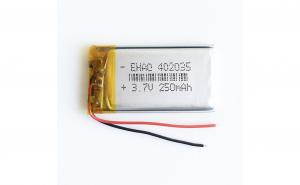402035 - Acumulator Li-Po- 3,7 V -250mah