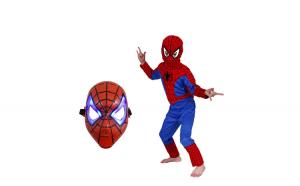 Set costum Spiderman marimea S si masca