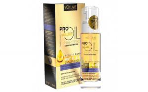 Ulei pentru par Subtire, Fragil si Fara Volum cu Vitamina E, A  D, VOLLARE Pro Extra Volume Oil, 30 ml
