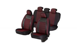 Set huse scaun elegance rosu