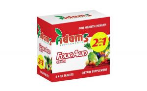Acid folic 400 mcg 30 cpr 1+1 GRATIS