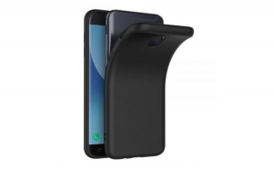 Husa Samsung Galaxy J7 2017 Flippy TPU moale Negru