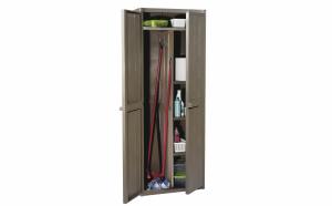 Cabinet multifunctional optica lemn Gensini, 65 x 45 x 172 cm, Maro ,QW.5730.00.A1233