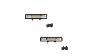Led bar 216 w bicolor
