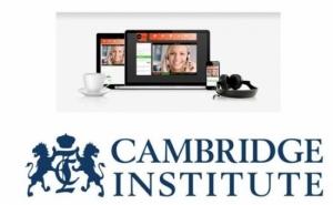 Curs de limba engleza oferit de Institutul Cambridge: 8 sedinte de videoconferinta + 1 curs online (1 nivel), la 419 RON in loc de 1485 RON. Invata engleza online, vorbind cu profesorul si cu alti studenti!