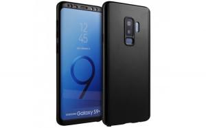 Husa Full Cover 360 Samsung Galaxy S9 Plus, Negru