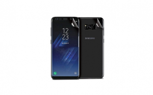 Folie Protectie Fata/Spate Samsung Galaxy S8 Plus, Transparenta