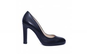 Pantofi dama din piele naturala, Edge, RIVA MANCINA, Negru, 35 EU