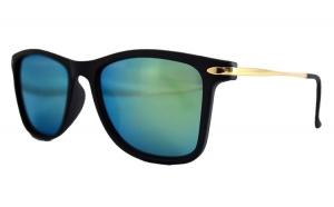 Ochelari de soare Passenger V Bleu cu reflexii - Negru Mat