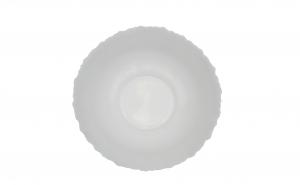 Set 3 boluri,opal,alb,25 cm