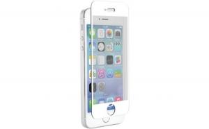 Folie Sticla Apple iPhone 5/5S/SE Flippy Full Face Alb