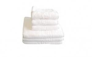 Set 6 prosoape tip hotel - 100% Bumbac Pakistan 650 gr/mp - model grecesc