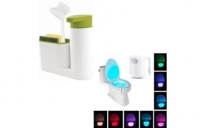 Dozator sapun+WC LED