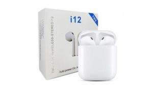 Casti Bluetooth Wireless i12 TWS