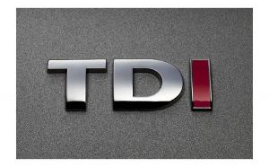 Emblema TDI ( o litera rosie ) T02