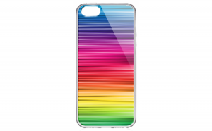 Husa silicon iPhone 5 / 5S Rainbow Warrior