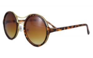 Ochelari de soare Rotunzi II Maro degrade - Maro Leopard