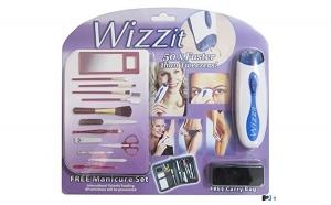 Mini epilator electric pentru fata + Set manichiura Wizz It