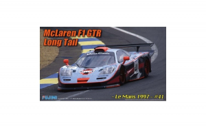 1:24 RS45 McLaren F1 GTR Long Tail 1997 #41 - Real Sports Car 1:24