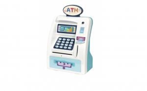 Jucarie interactiva Bancomat ATM , accesoriile incluse, finisaje excelente si design atractiv Black Friday Romania 2017