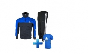 Trening elite negru indigo + tricou cadou la doar 139 RON de la 299 RON