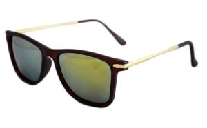 Ochelari de soare Passenger V Verde cu reflexii - Maro Mat
