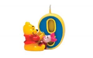 Lumanare tort cifra 9 Winnie the Pooh