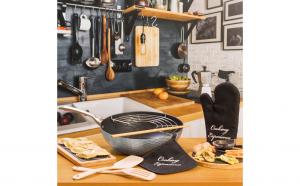 Set bucatarie cu un desing modern, Cucine del Mundo Kasanova Italia, 8 produse