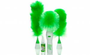 Pamatuf Electric Go Duster + Bonus spray pentru curatare