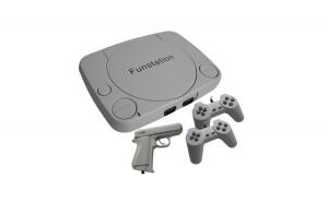 Consola pentru jocuri pe televizor New Slim FS1, 2 x controller