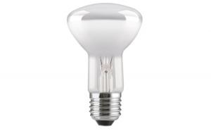 Bec LED Tungsram E27 forma R63, 8W, 15000 ore, lumina calda