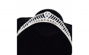 Tiara diadema eleganta pentru mireasa cu