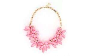 Colier Auriu Pink