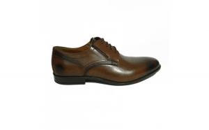 Pantofi eleganti pentru barbati Brandy, piele naturala, RIVA MANCINA, Maro, 45 EU
