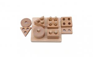 Joc sortator Montessori forme geometrice