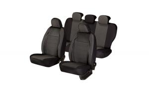 Set huse scaun elegance negru