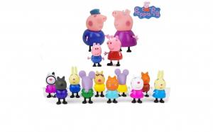 Set 14 figurine Peppa Pig