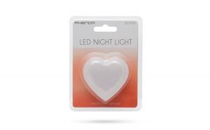 Lumina de veghe model inima (roşu)