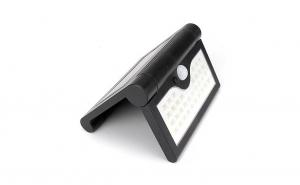 Lampa solara pliabila 2 bucati, senzor miscare 34 LED 3 moduri