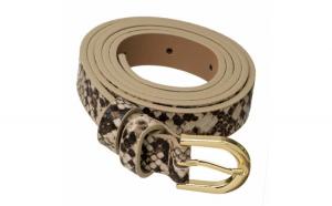 Curea dama eleganta Pufo Snake Print,