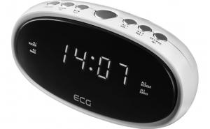 Radio cu ceas ECG RB 010 alb, Cadouri Craciun, Inspiratie pentru tine