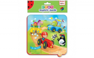 Puzzle magnetic Cursa Roter Kafer
