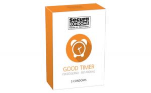 Prezervative Secura Good Timer, 3 Buc.