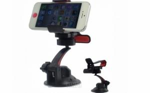 Suport auto pentru telefoane mobile, dispozitive GPS si alte gadgeturi, la doar 16 RON in loc de 40 RON