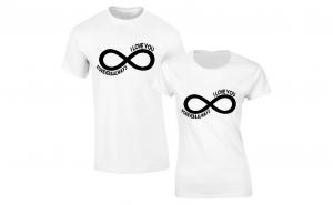 """Set de tricouri pentru cupluri ''Infinite Love"""""""