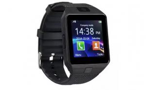 Ceas Smartwatch DZ09, BT, Camera 1.3MP, 1.54 Inch, Negru