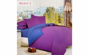 Lenjerie Uni Milano Collection pentru pat dublu