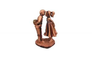 Statuie cu fata si