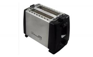 Prajitor de paine Hausberg HB-160, 2 fante, 6 trepte temperatura, Inox