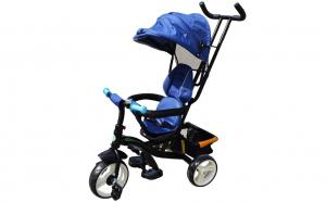 Tricicleta cu maner, scaun rotativ